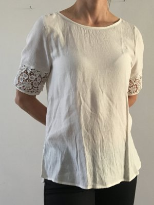 MILANO T-Shirt-Bluse, Gr. 36, creme-weiss