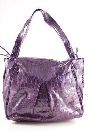 Milano Sac bandoulière violet style cuir