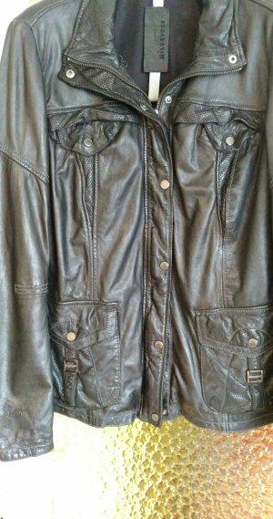 Milestone Damen Lederjacke in Größe 46 neuwertig