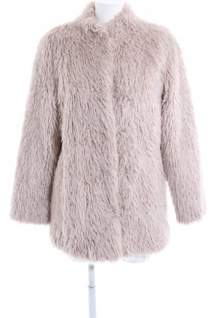 Milestone Fake Fur Coat natural white casual look