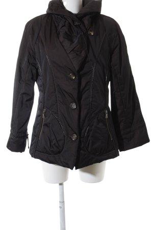 Milestone Lange Jacke dunkelbraun Elegant