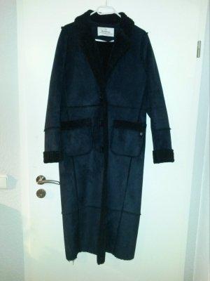 Milestone Mantel Größe S dunkelblau
