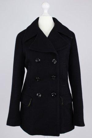 Milestone Mantel schwarz Größe 36 1712030210997