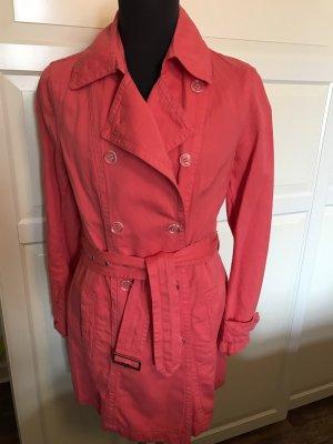 Milestone Parka Trenchcoat Gr. 38 Pink Neuwertig