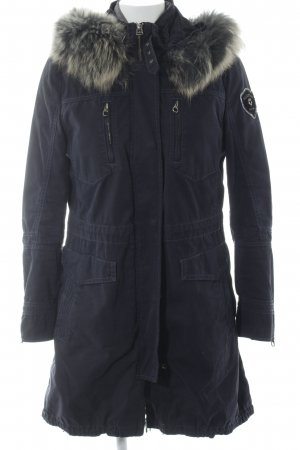 Milestone Winterjacke dunkelblau Casual-Look