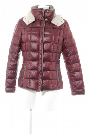 Milestone Winter Jacket dark red casual look