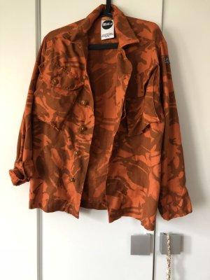 Asos Militair jack bruin-donker oranje