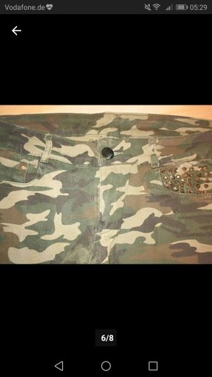 Militär Jeans