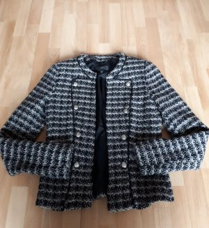Mango Knitted Blazer multicolored polyester