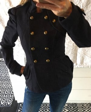 Review Veste en laine multicolore