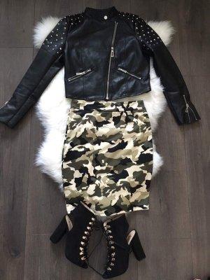 ⚜ Military Army Skirt OS 34 36 38 toller Rock Neu Blogger ⚜