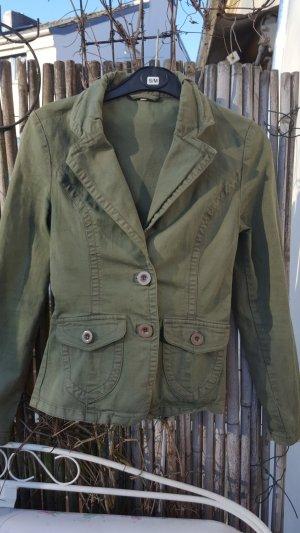 Military Blazer Jacke olivgrün