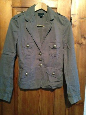 Military-Blazer Jacke von H&M khaki grün