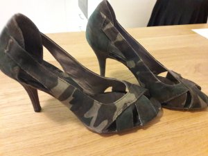 Military Camuflage Peeptoes von Tamaris