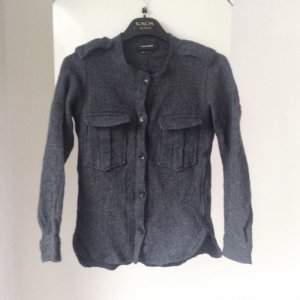 Military Hemd Bluse Wolle Isabel Marant Iggy Flannel shirt