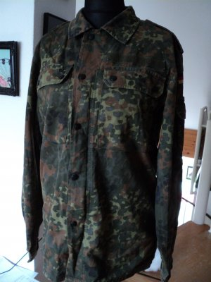Military Hemdjacke Camouflage in Gr 7