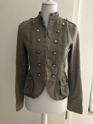 H&M Military Jacket gold-colored-khaki