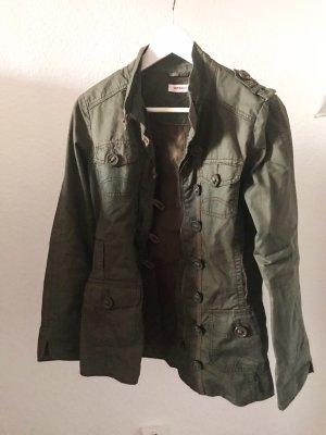 Orsay Chaqueta militar caqui-gris verdoso