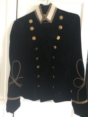 Denim & Supply Ralph Lauren Veste militaire noir-doré