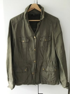 Military-Jacke * Gr. 36 * khaki * s.oliver Selection
