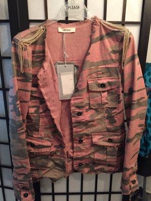 Military Jacke in Rose