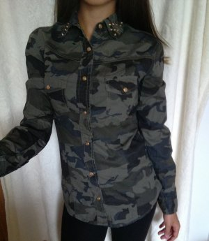 Military Jeanshemd Camouflage Gr XS/S