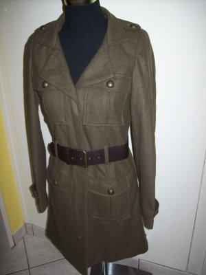 Military Mantel khaki Gr. XS 34 36 Uniform Militär