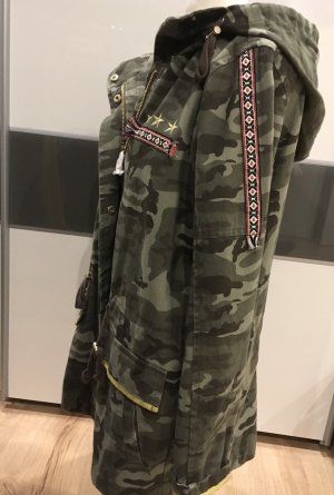 Military Parka Jacke Tom Tailor Gr M Neu
