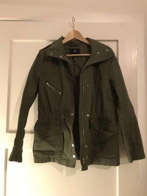 H&M Giacca militare grigio-verde