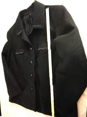 Military Style mit tollen Akzenten * Jacket Blouson Jacke Weste * Vintage Retro LOOK mit großem Kragen * Gothic Punk Steampunk * Gr. 42 - 44 L
