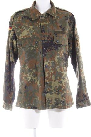 Chaqueta militar estampado de camuflaje look militar