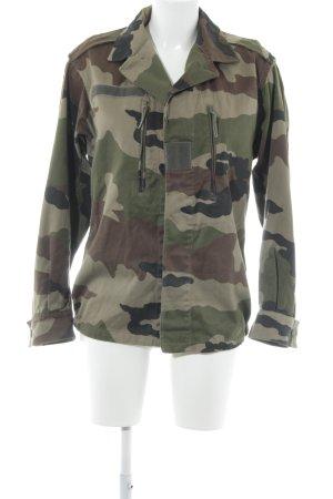 Veste militaire multicolore style masculin