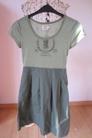 MILITARYSTYLE - NEU: Süßes TIGERHILL olivgrünes Shirtkleid mit Rock!