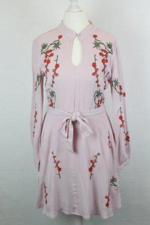 MILLIE MACKINTOSH Kleid Gr. 36 rosa mit Bumen Stickerei NEU mit Etikett