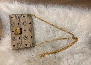 MILLIE SMALL CROSSBODY BAG BEIGE- MCM Tasche