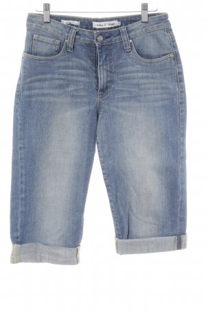 Million X Women 3/4 Jeans blau Jeans-Optik