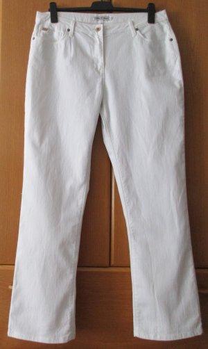 Million X Women Premium - Damen Jeans weiß Denim
