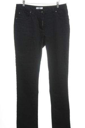 Million X Women Straight-Leg Jeans schwarz klassischer Stil