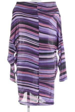Millions & Millions Vestido tipo túnica estampado a rayas estilo extravagante