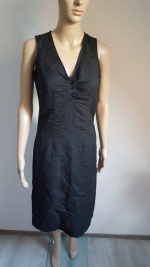 Mills Women Damen Leinen Mix Kleid Sommerkleid schwarz Größe 36 NEU
