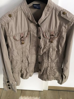 Mills Women Blazer unisexe brun sable-brun coton