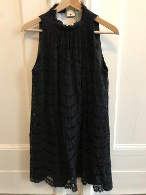 Milly Vestido de encaje negro