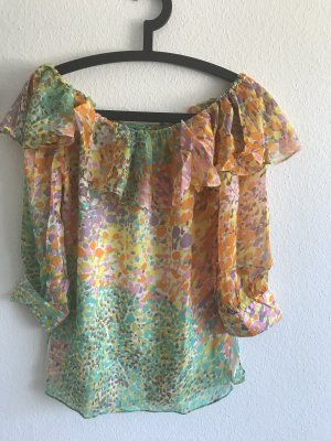 Milly Ruffled Blouse multicolored