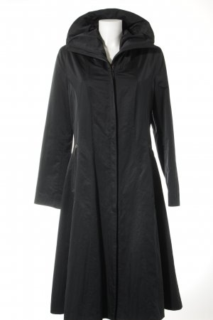 Milo Coats Trenchcoat zwart casual uitstraling