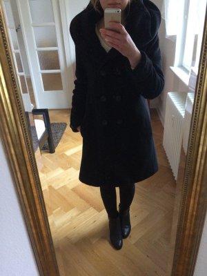 Milo Coats Abrigo de lana negro Lana