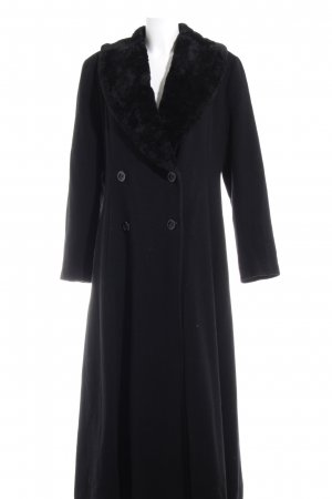 Milo Coats Wool Coat black elegant