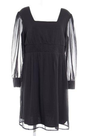 Mim Babydoll Dress black elegant