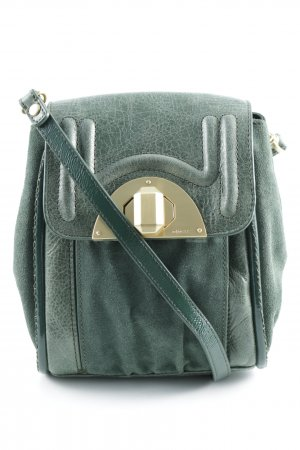 MIMCO Gekruiste tas groen-goud straat-mode uitstraling