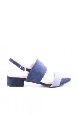 Mime et moi Strapped High-Heeled Sandals dark blue-steel blue casual look