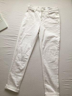 Clockhouse Jeans boyfriend blanc
